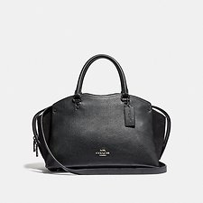 Image of Coach Australia GM/BLACK DREW SATCHEL