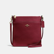 Image of Coach Australia GD/DEEP RED MESSENGER CROSSBODY