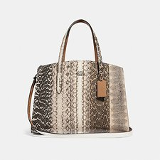 Image of Coach Australia GM/NATURAL CHARLIE CARRYALL IN OMBRE SNAKESKIN