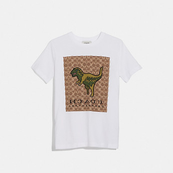 Image of Coach Australia  SIGNATURE REXY T-SHIRT