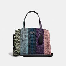 Image of Coach Australia GM/MULTICOLOR CHARLIE CARRYALL 28 IN OMBRE SNAKESKIN