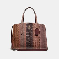 Image of Coach Australia  CHARLIE CARRYALL IN OMBRE SNAKESKIN