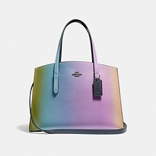 Image of Coach Australia GM/MULTICOLOR CHARLIE CARRYALL WITH OMBRE