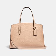 Image of Coach Australia SV/BEECHWOOD CHARLIE CARRYALL IN SIGNATURE LEATHER