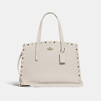 Image of Coach Australia  CHARLIE CARRYALL WITH RIVETS