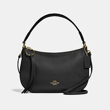 Image of Coach Australia GD/BLACK SUTTON CROSSBODY