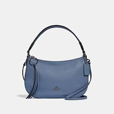 Image of Coach Australia GM/STONE BLUE SUTTON CROSSBODY