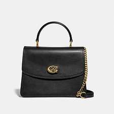 Image of Coach Australia B4/BLACK PARKER TOP HANDLE