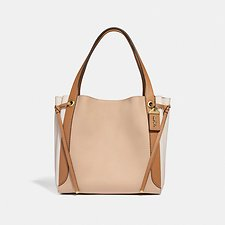 Image of Coach Australia B4/BEECHWOOD HARMONY HOBO IN COLORBLOCK