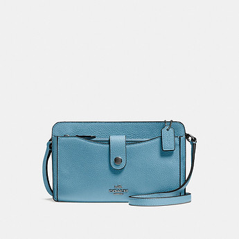 Image of Coach Australia  POP UP MESSENGER IN PEBBLE LEATHER