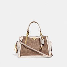 Image of Coach Australia B4/TAN CHALK DREAMER 21 IN SIGNATURE CANVAS