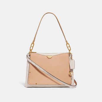 Image of Coach Australia  DREAMER SHOULDER BAG IN COLORBLOCK