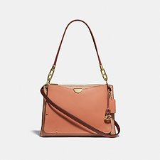 Image of Coach Australia GD/SUNRISE MULTI DREAMER SHOULDER BAG IN COLORBLOCK