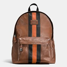 Picture of MODERN VARSITY CAMPUS BACKPACK IN SPORT CALF LEATHER