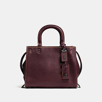 Image of Coach Australia  ROGUE 25 IN GLOVETANNED PEBBLE LEATHER