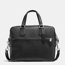 Image of Coach Australia SVBK HUDSON BAG 5 IN CROSSGRAIN LEATHER