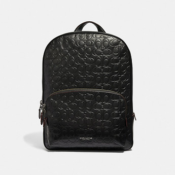 Image of Coach Australia  KENNEDY BACKPACK IN SIGNATURE LEATHER