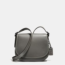 Picture of SADDLE BAG 23 IN GLOVETANNED LEATHER