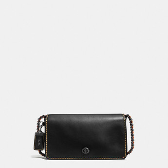 Image of Coach Australia  DINKY CROSSBODY IN GLOVETANNED LEATHER