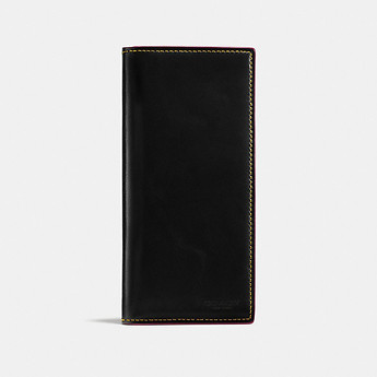 1966f1fa50056 Image of Coach Australia BOXED BREAST POCKET WALLET IN WATER BUFFALO LEATHER