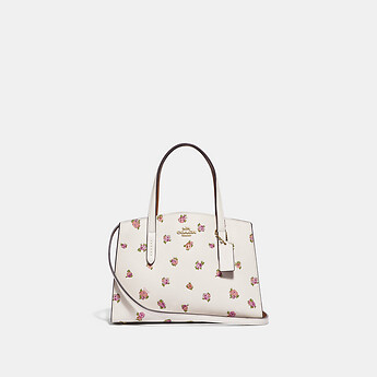 Image of Coach Australia  CHARLIE CARRYALL 28 WITH FLORAL PRINT
