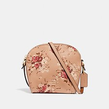 Image of Coach Australia GD/BEECHWOOD FARROW CROSSBODY WITH FLORAL PRINT
