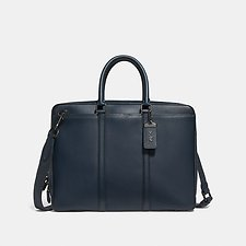 Image of Coach Australia JI/MIDNIGHT NAVY METROPOLITAN SLIM BRIEF