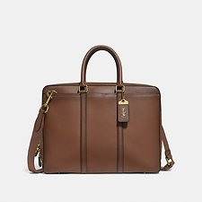 Image of Coach Australia OL/SADDLE METROPOLITAN SLIM BRIEF