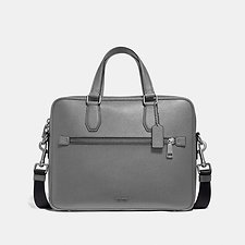 Image of Coach Australia SV/HEATHER GREY KENNEDY BRIEF