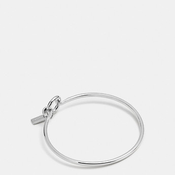 Image of Coach Australia  CHARM BASE HINGED HOOP BANGLE