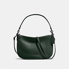 Image of Coach Australia GM/CYPRESS CHELSEA CROSSBODY IN PEBBLE LEATHER