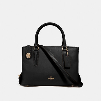 Image of Coach Australia  BROOKYLN CARRYALL 28 IN PEBBLE LEATHER