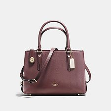 Image of Coach Australia LIOXB BROOKYLN CARRYALL 28 IN PEBBLE LEATHER
