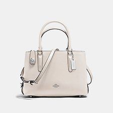 Image of Coach Australia SV/CHALK BROOKYLN CARRYALL 28 IN PEBBLE LEATHER