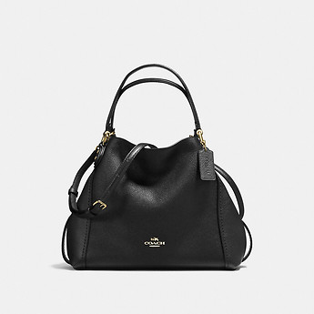 Image of Coach Australia  EDIE SHOULDER BAG 28 IN PEBBLE LEATHER