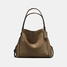 Picture of EDIE SHOULDER BAG 31 IN PEBBLE LEATHER