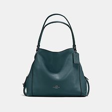 Image of Coach Australia GM/CYPRESS EDIE SHOULDER BAG 31 IN PEBBLE LEATHER