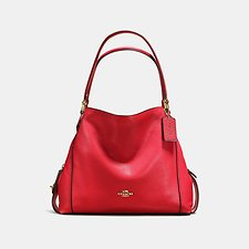 Image of Coach Australia LI/JASPER EDIE SHOULDER BAG 31 IN PEBBLE LEATHER