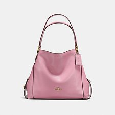 Image of Coach Australia LI/ROSE EDIE SHOULDER BAG 31 IN PEBBLE LEATHER