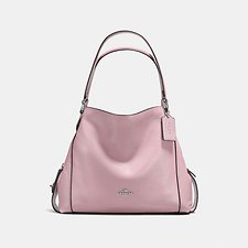 Image of Coach Australia SV/BLOSSOM EDIE SHOULDER BAG 31 IN PEBBLE LEATHER