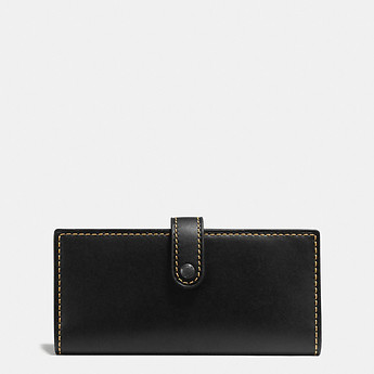 Image of Coach Australia  SLIM TRIFOLD WALLET IN GLOVETANNED LEATHER