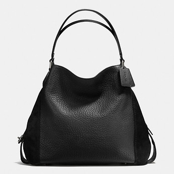 fba08f4c6f Image of Coach Australia EDIE SHOULDER BAG 42 IN MIXED LEATHERS