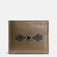 Picture of 3-IN-1 WALLET WITH WESTERN RIVETS