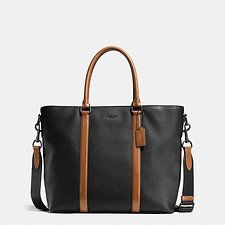 Picture of HARNESS METROPOLITAN TOTE IN PEBBLE LEATHER