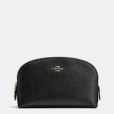 Image of Coach Australia LI/BLACK CROSSGRAIN COSMETIC CASE 17