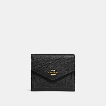 Image of Coach Australia  SMALL WALLET IN CROSSGRAIN LEATHER