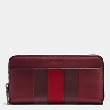 Picture of ACCORDION WALLET WITH MODERN VARSITY STRIPE