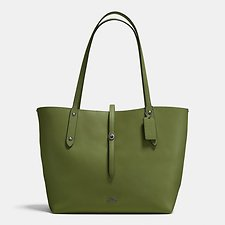 Picture of MARKET TOTE IN POLISHED PEBBLE LEATHER