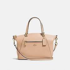 Image of Coach Australia LI/BEECHWOOD PRAIRIE SATCHEL IN POLISHED PEBBLE LEATHER