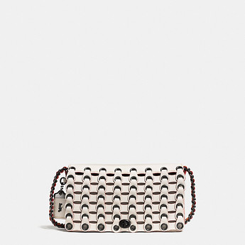 Image of Coach Australia  DINKY IN COACH LINK LEATHER